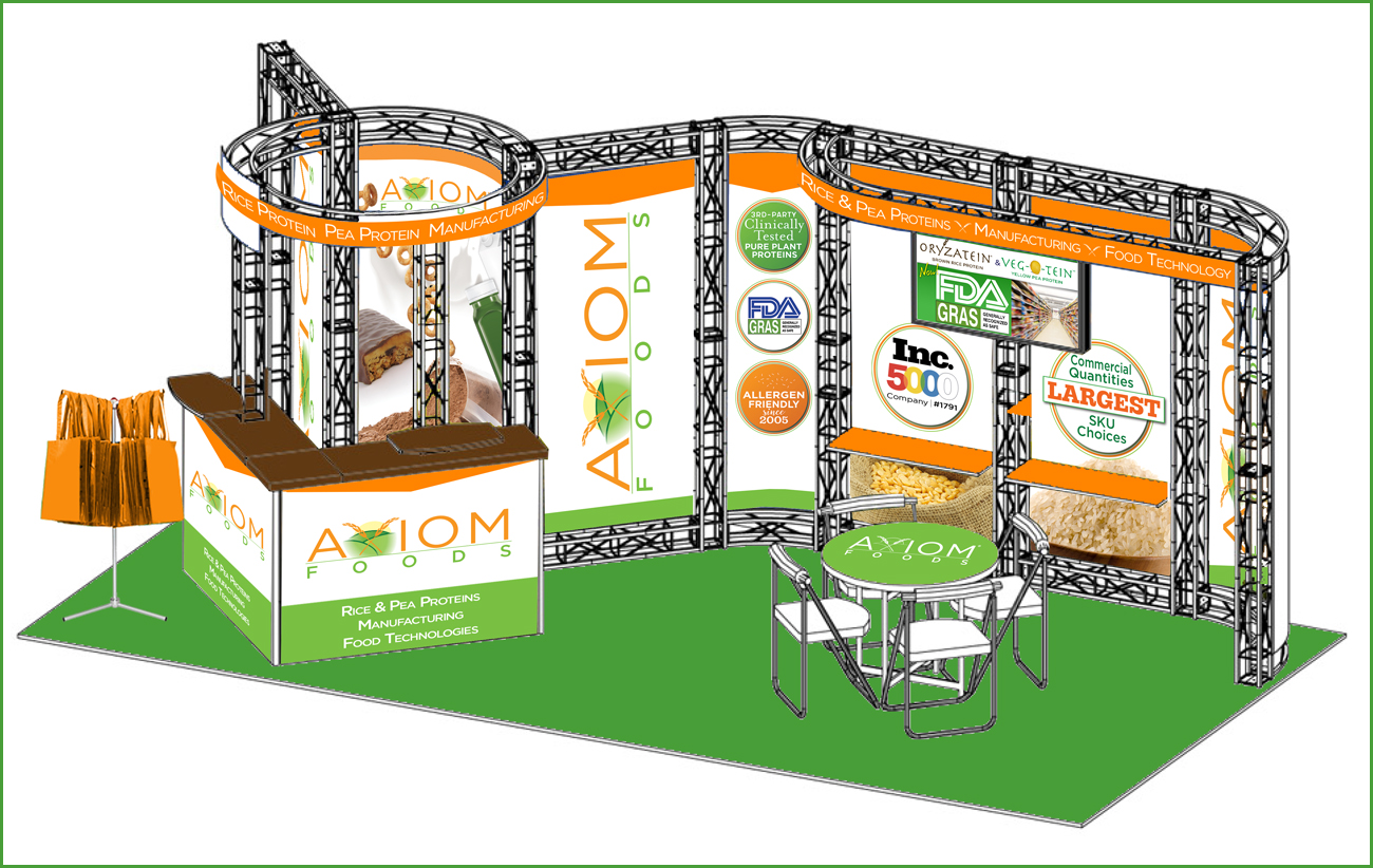 Tradeshow Booth - Plant Ingredients Company