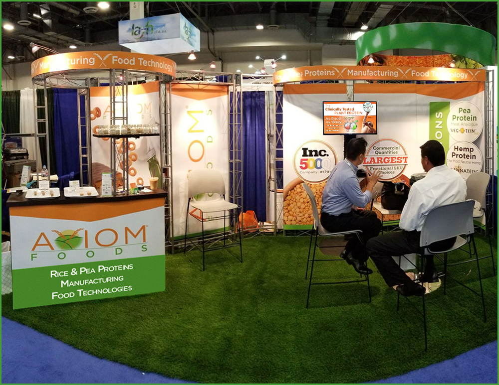 IFT Ingredient Food Technology Tradeshow Booth