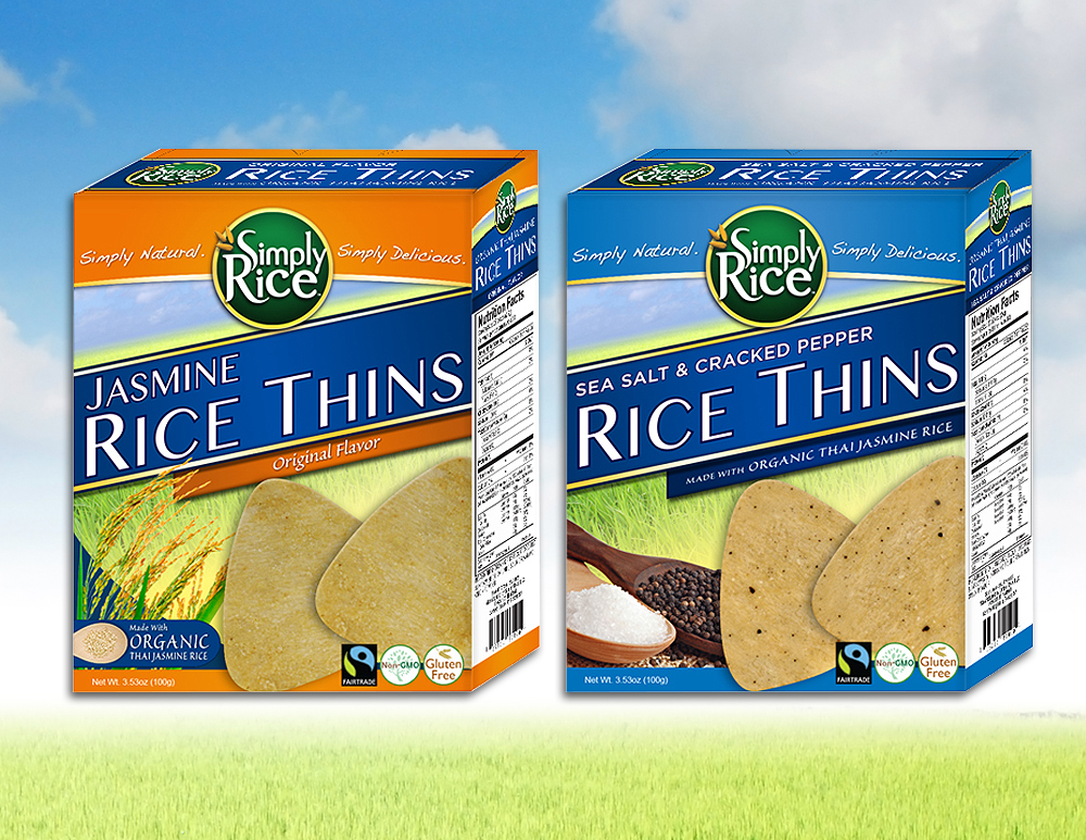 Rice Crackers Custom Packaging Design