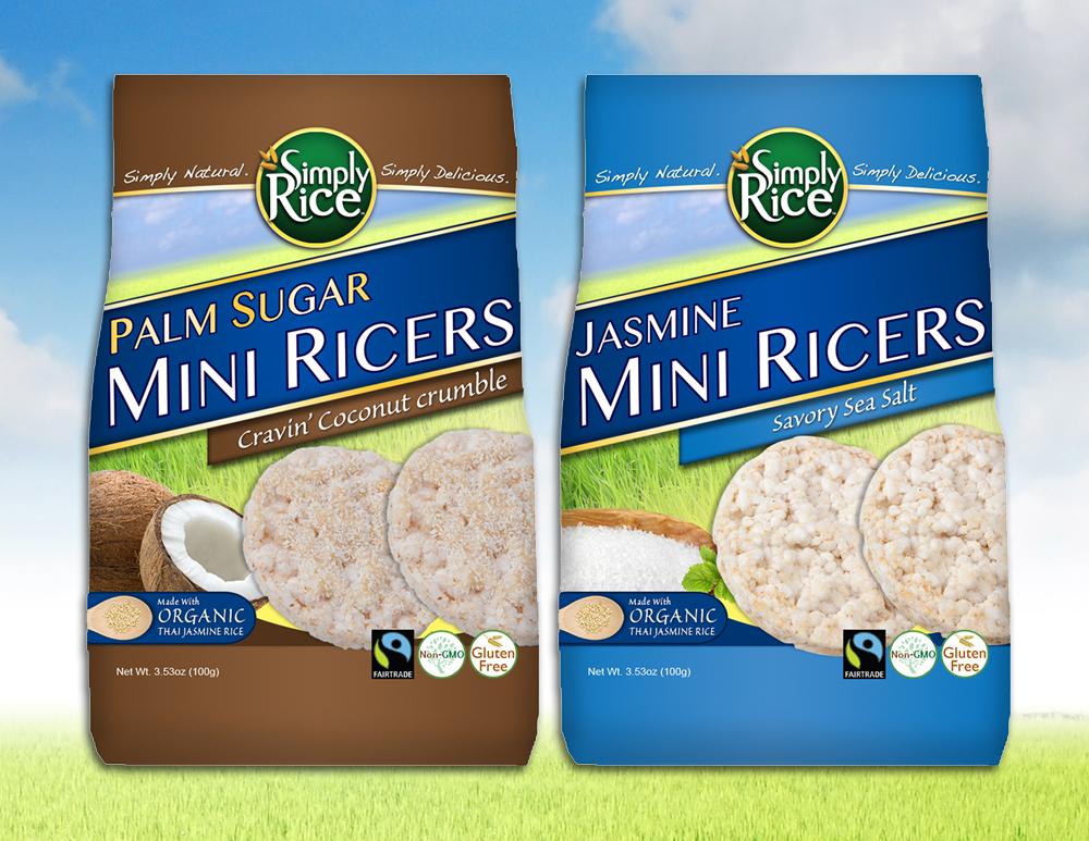 Rice Cakes Custom Packaging Design