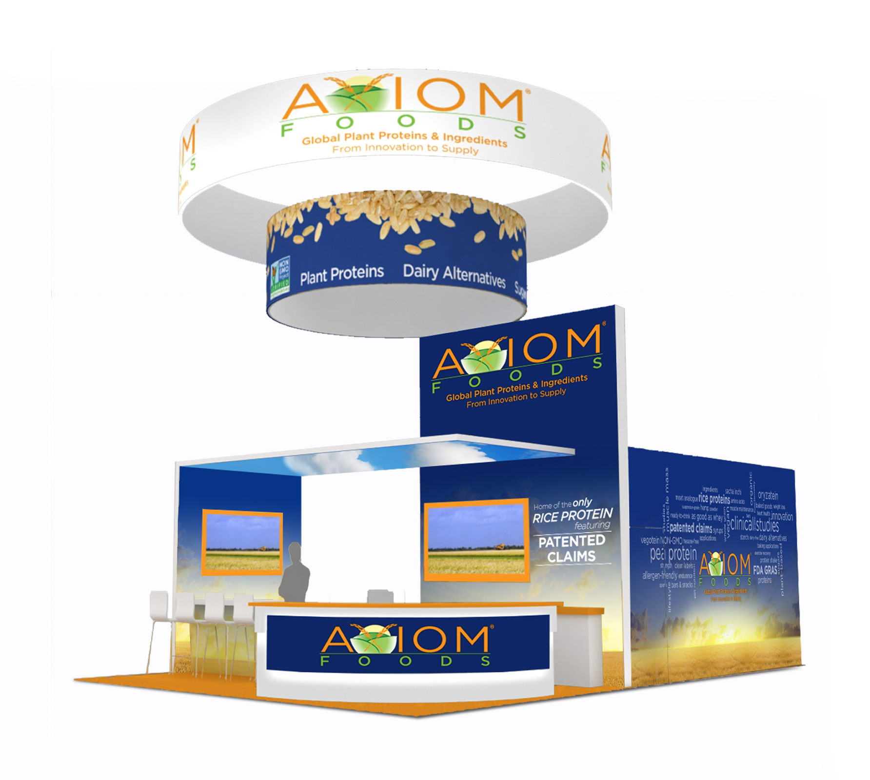 Professional tradeshow booth design