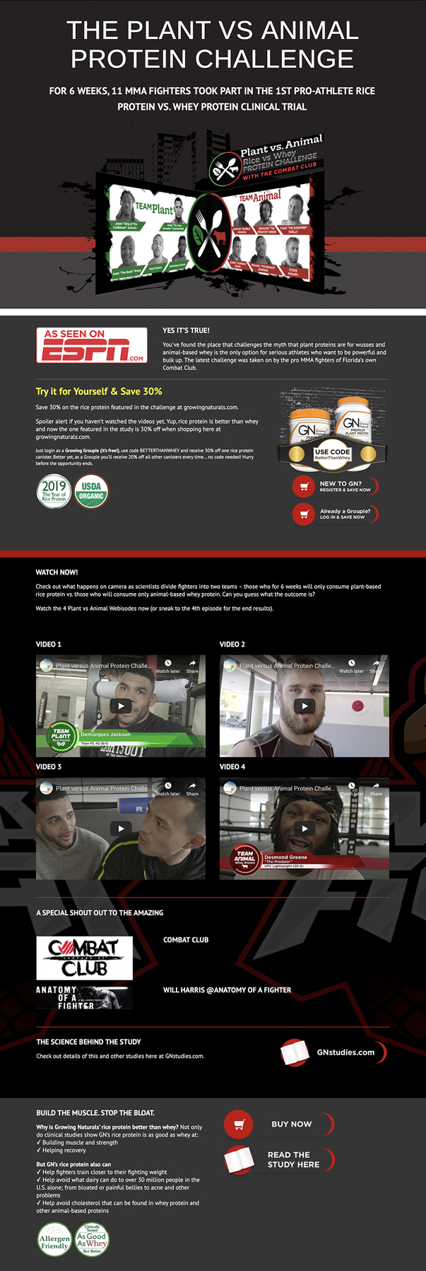 MMA Fighters video production