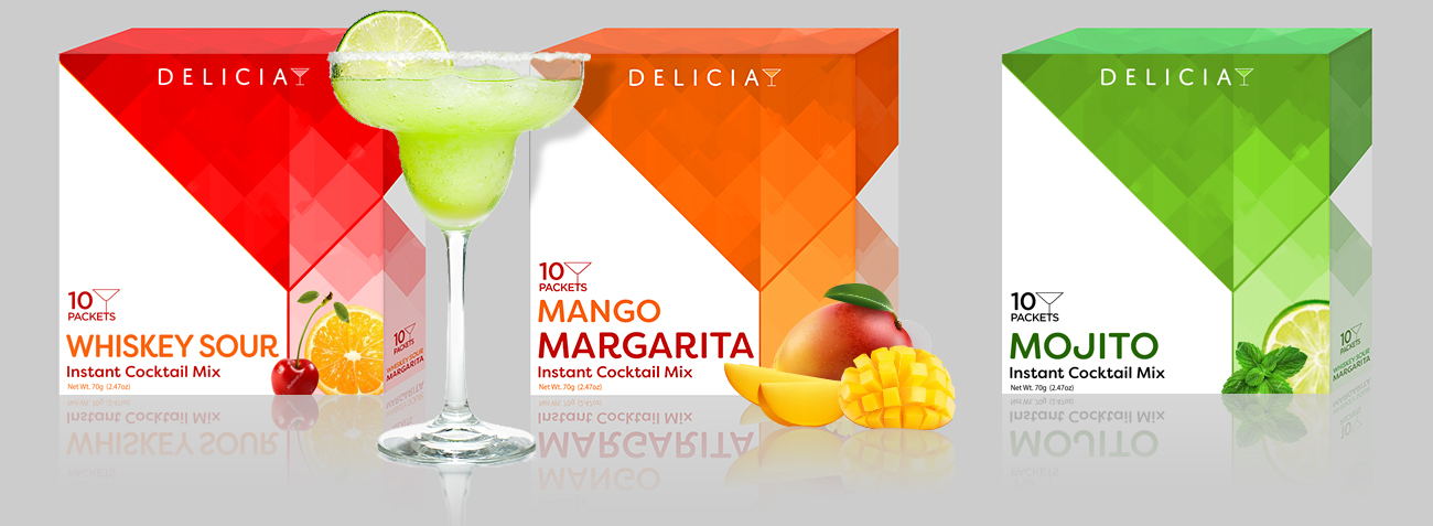 Modern Packaging Design - Margarita Mix Line