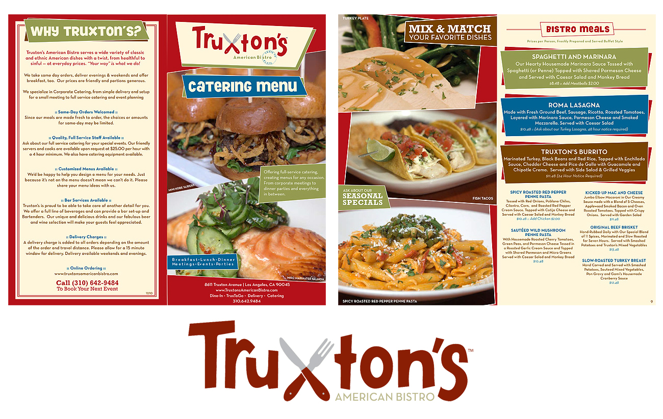 Restaurant menu design & printing
