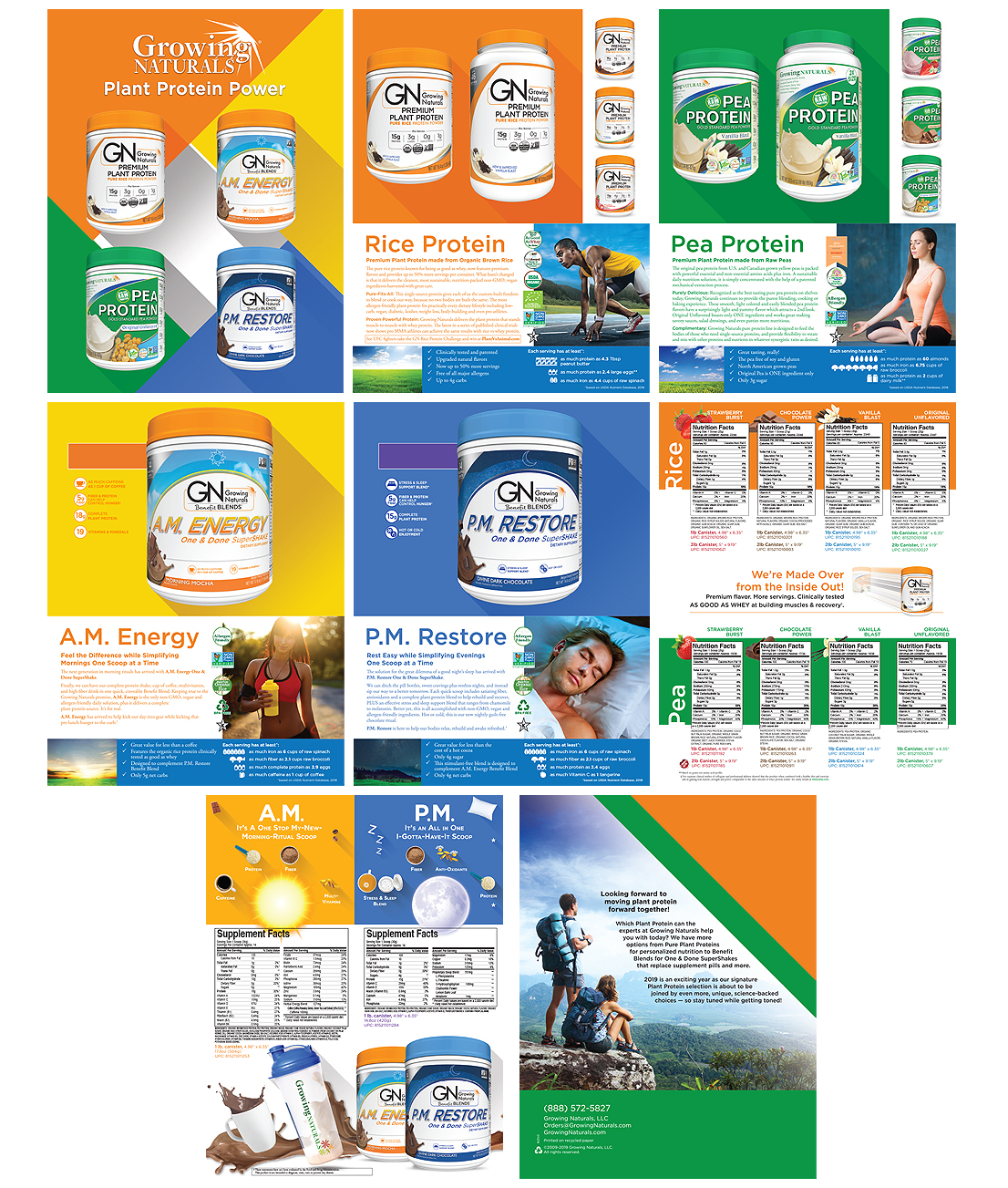 Retail product catalog design & printing