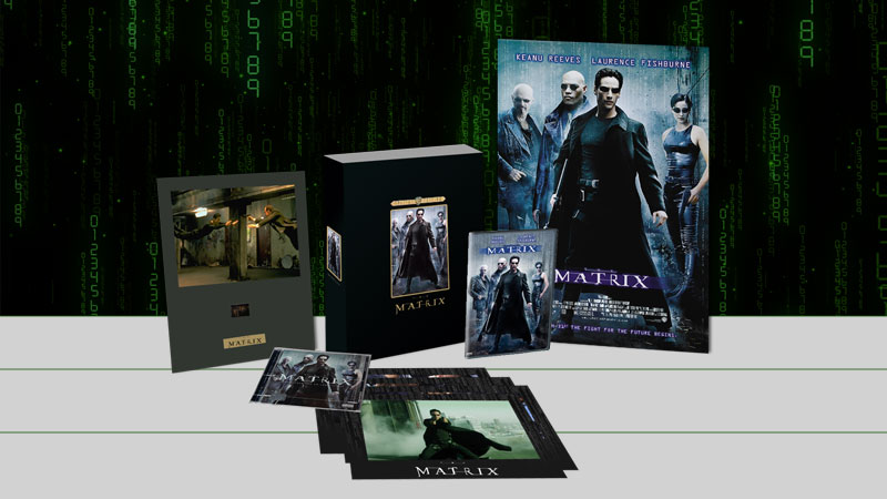 The Matrix limited edition collectors set packaging