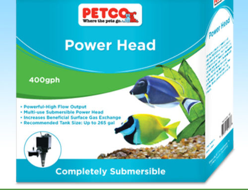 Petco® Aquarium Pumps Packaging Design