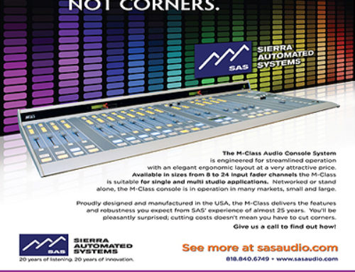 Printed Advertising Campaign –  Audio Systems