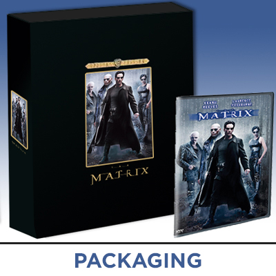 The Matrix movie limited edition collectors set packaging design