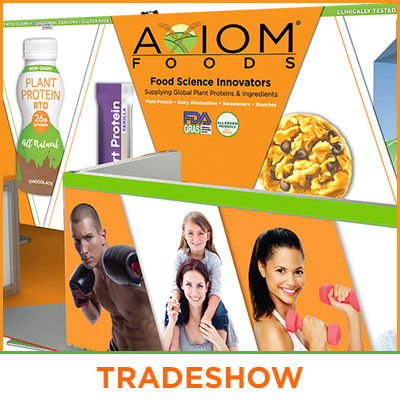 Tradeshow Booth Design - Food Technology