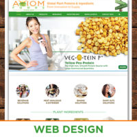 Plant Protein & Food Ingredients Wordpress Website Design & Programming