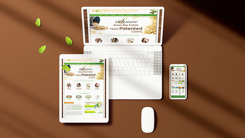food-ingredients-proteins-website-design