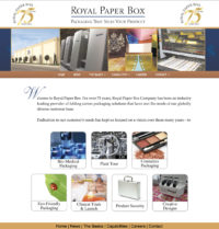 Folding cartons manufacturing company website