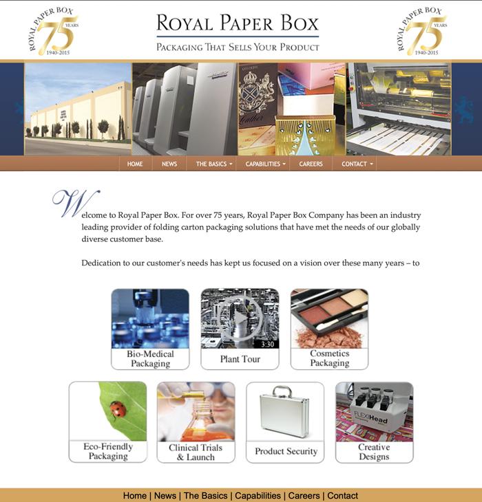 Folding cartons manufacturing company website