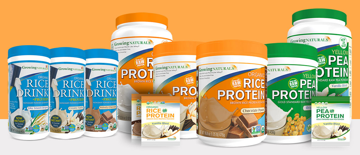 Custom Packaging Design and printing - Plant Protein
