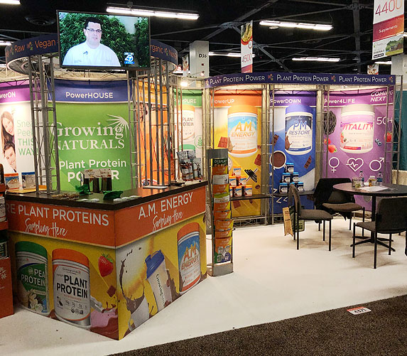 tradeshow booth design natural products expo