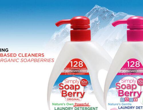 Natural Laundry Detergent Packaging, Printing, Website