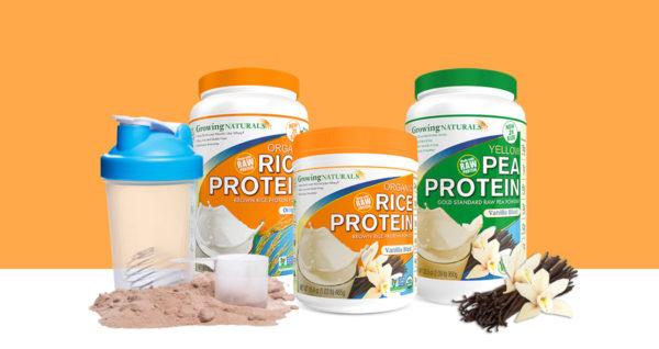 plant protein branding packaging design printing