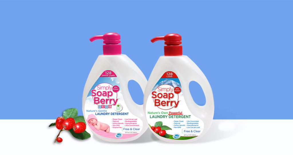 Creative branding project: Natural laundry detergents packaging, design and printing