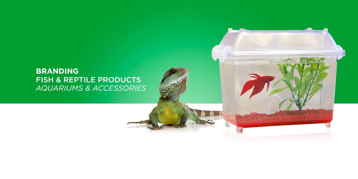 Petco fish & pet packaging branding
