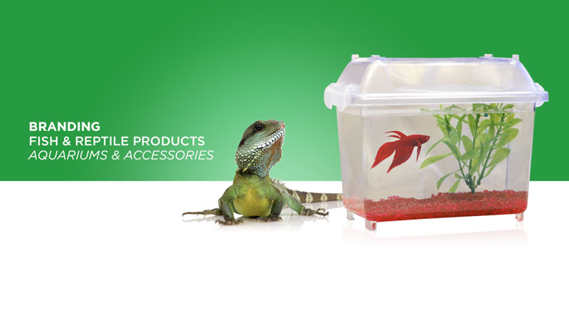 Petco fish products packaging marketing