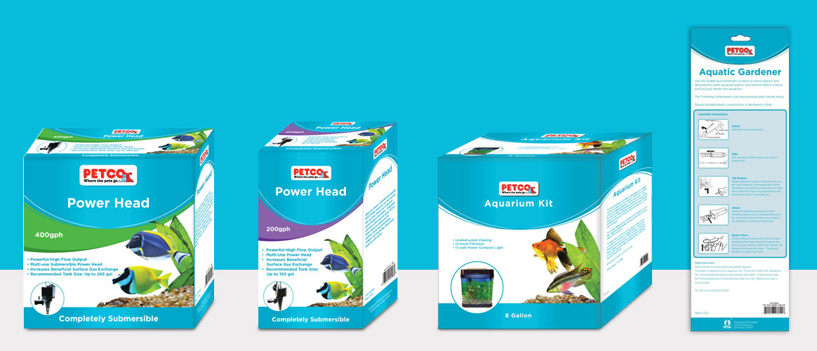Petco® packaging line design printing