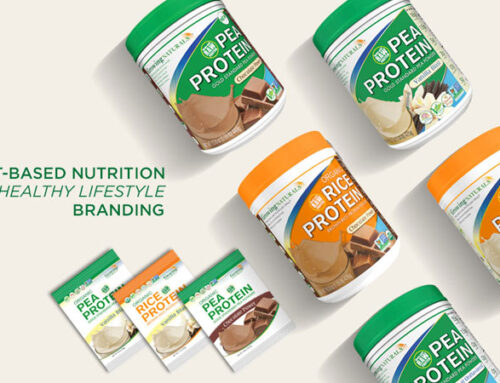 Growing Naturals Plant Protein Branding, Packaging, Printing, Web