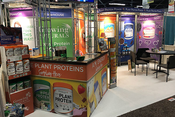 10x20 tradeshow booth production & branding