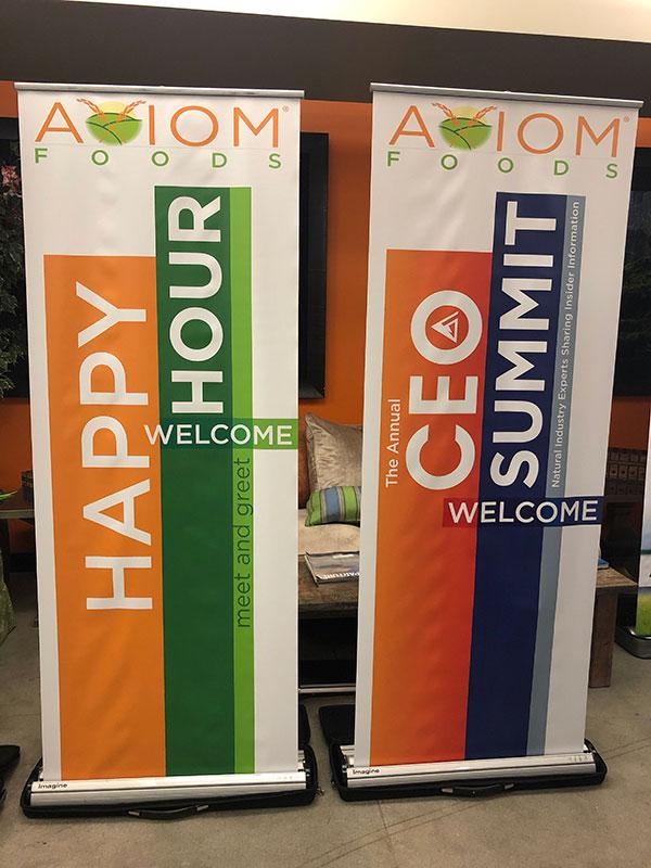 Freestanding Banners Design & Printing