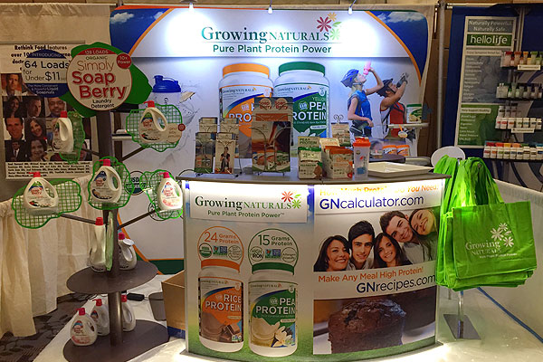 Natural Cleaners Tradeshow Booth Design