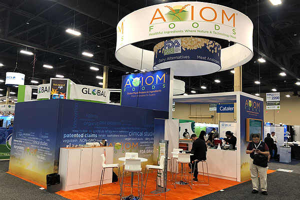 20x40 Tradeshow Booth Design & Production