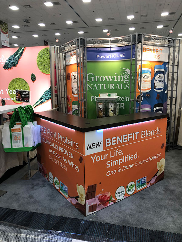 Natural Products Booth Design