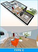 3D Floorplan with Walkthrough