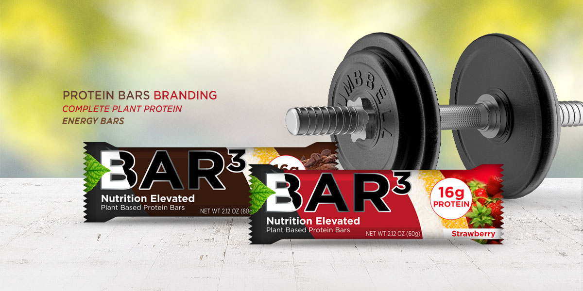 complete plant protein energy bars