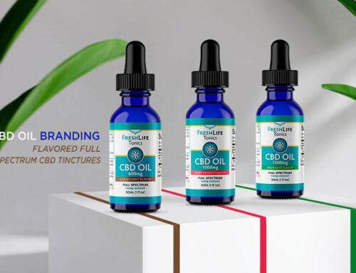 CBD Oil Tinctures Branding & Label Design