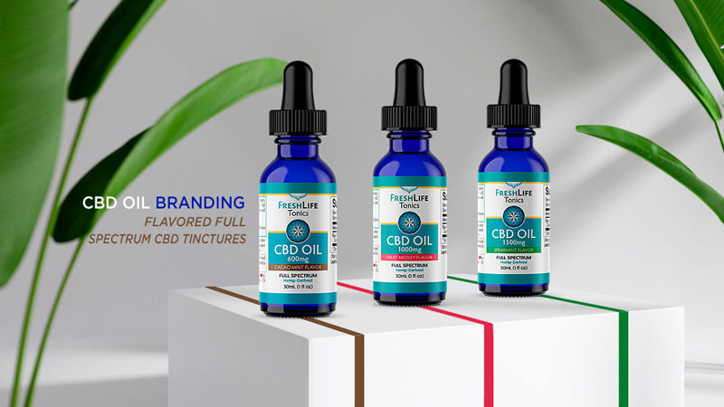 cbd-oil-tinctures-label-design