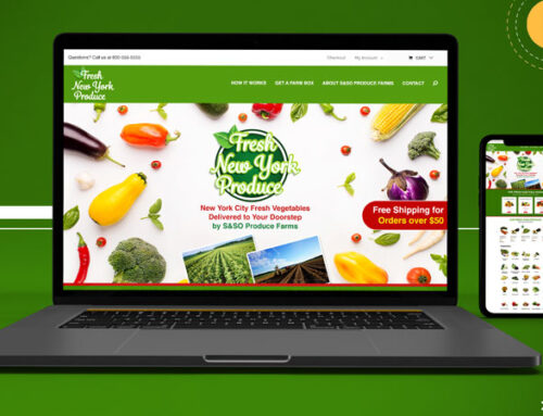 Fresh New York Produce – Ecommerce Website