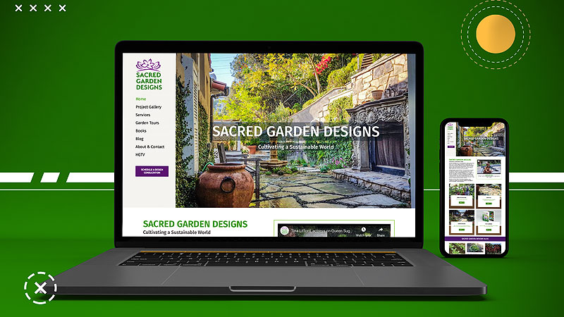 Landscape & Garden Design Website