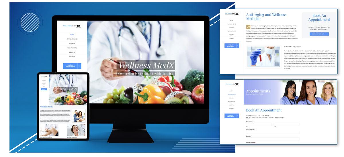 Wellness & medical nutrition, health planning website