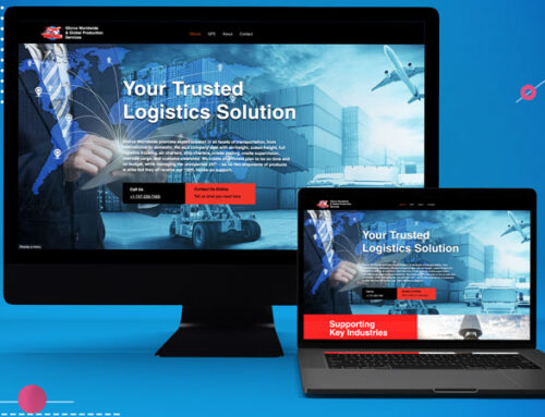 Worldwide Logistics Website Design