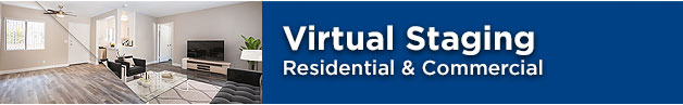 residential and commercial virtual staging services