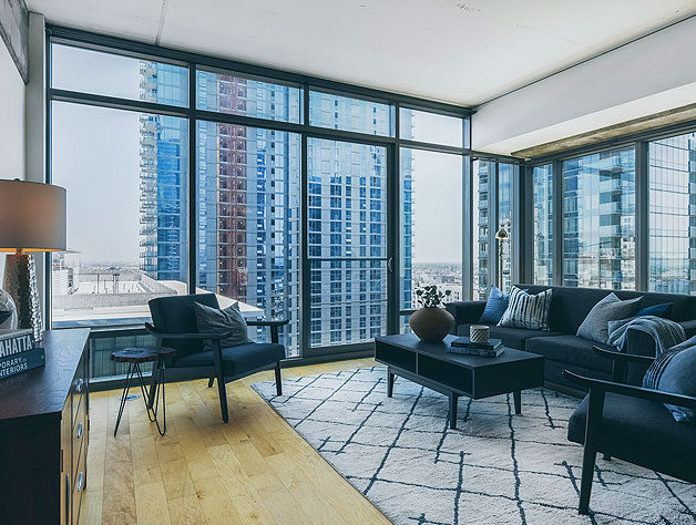 Downtown Apartments Photography