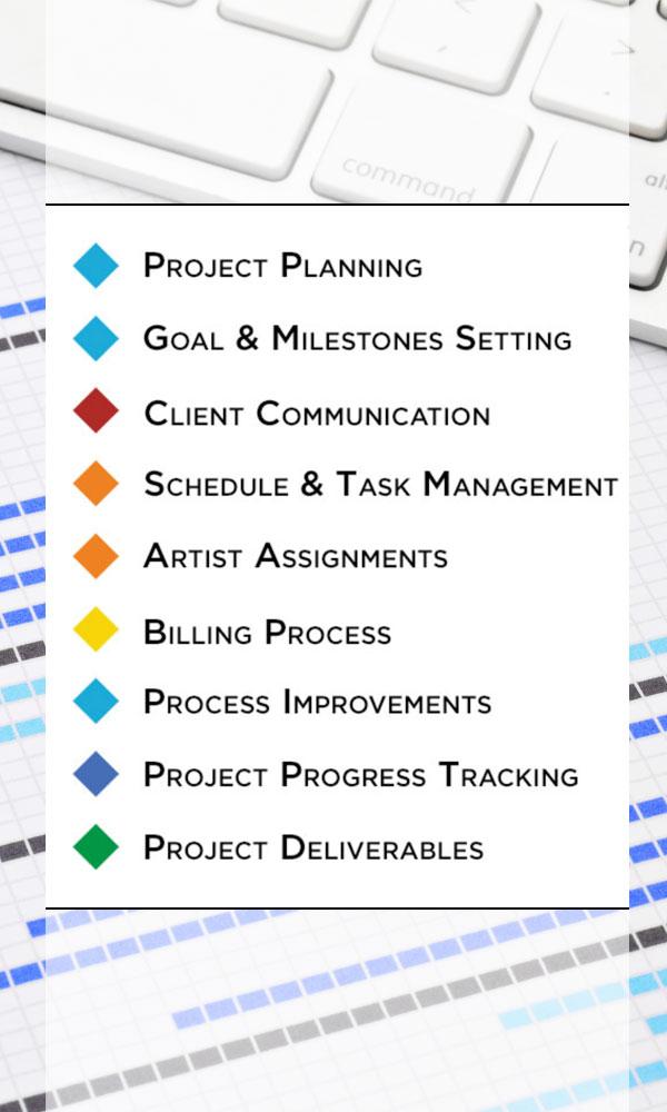 Creative Services Project Management